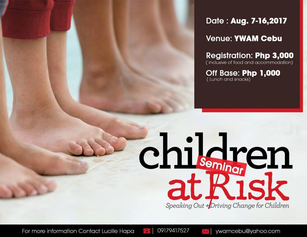 Children at Risk Seminar