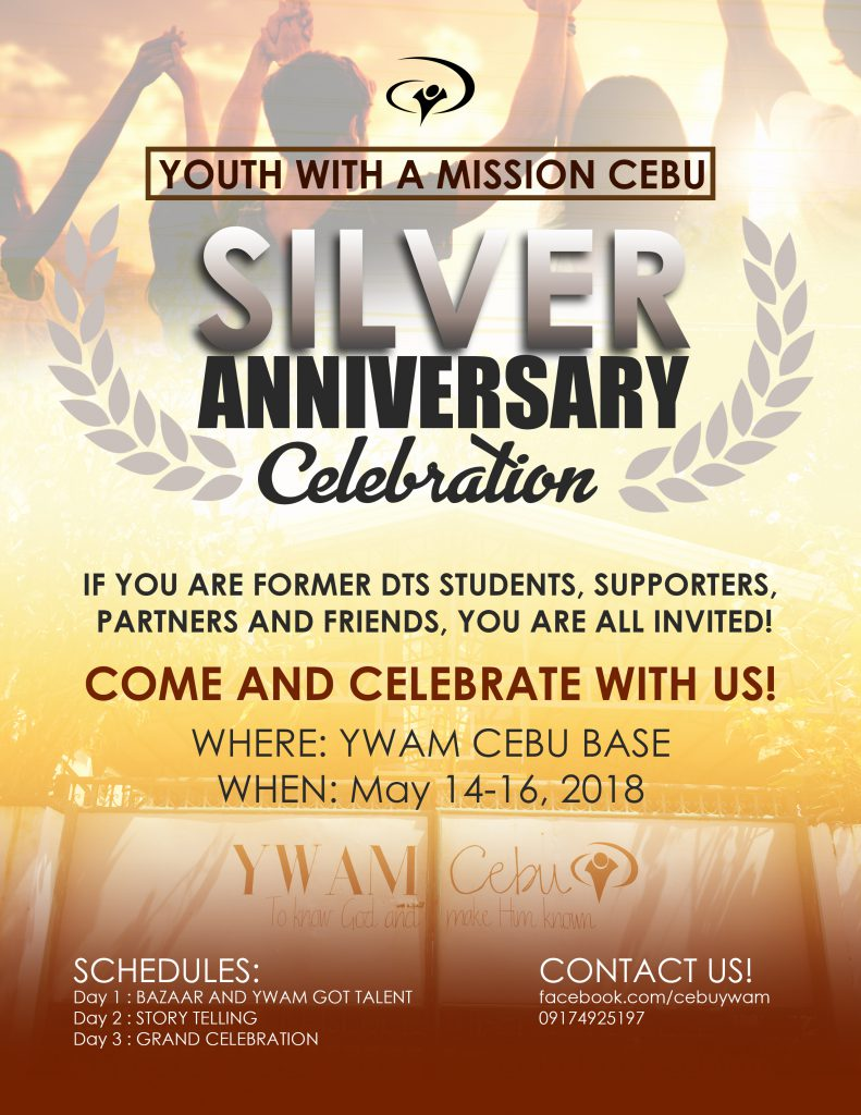 Silver Anniversary YWAM Cebu